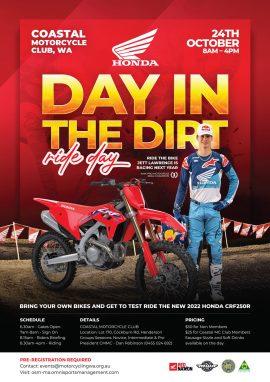 Honda CRF250R Ride Day